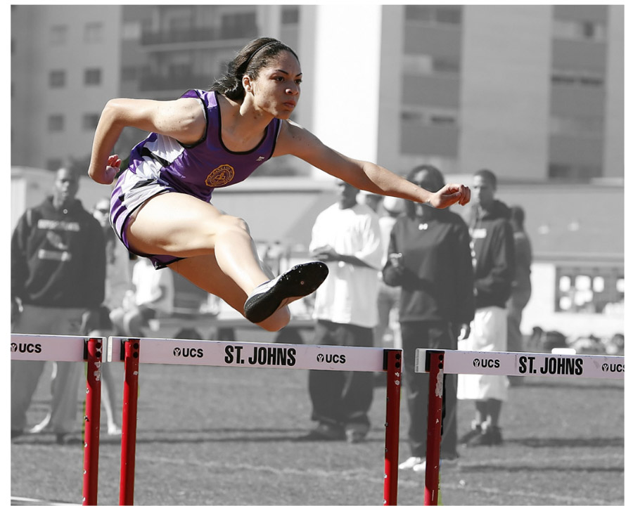 Overcoming obstacles in writing is like overcoming barriers in sport. You learn the technique and practice.